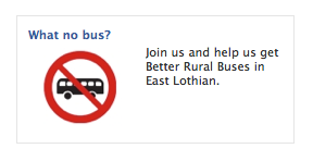 Better Rural Buses Facebook Ad